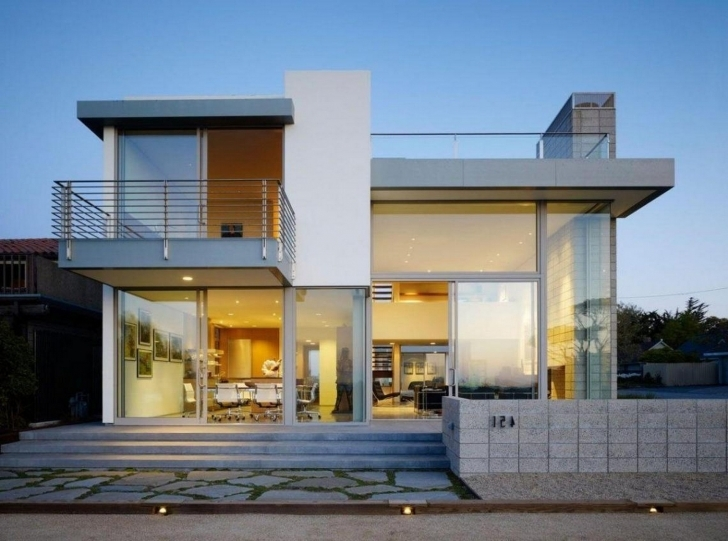 Cool About One Story Houses On Pinterest Modern Two Storey Building Modern House Buildings Photo