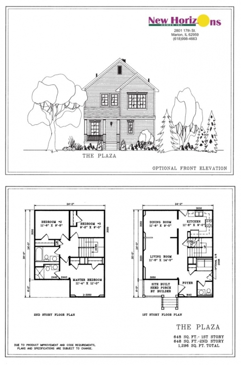 Cool Apartments : Modern House Floor Plans And Elevations Guest Storey House Design Eluvesion Size 3050 Image Pic