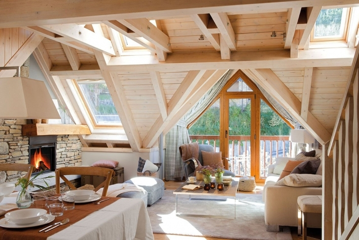 Cool Cozy Rustic Mountain Retreat With A Contemporary Twist | Idesignarch Rustic Mountain Home Decor Pic