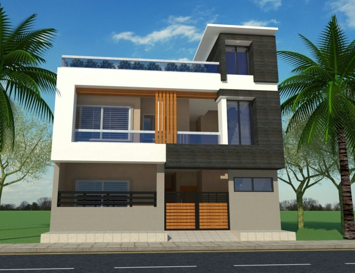 Cool G+1 House Front Elevation | Modern House Elevation | Pinterest G+2 Residential Building Plan And Elevation Photo