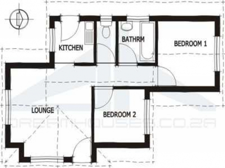 Cool Home Architecture: Rdp House Plans South Africa Economic Floor Plans 2 Bedroom Rdp House Plan Picture
