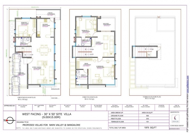 Cool Home Plan 20 X 30 Awesome Duplex House Plans For 20X30 Siterth 20*50 House Plan West Facing Photo