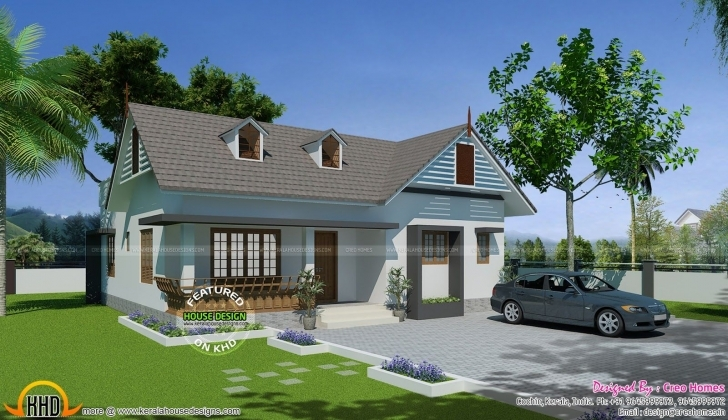 Cool House Below 15 Lakhs | Kerala, Bedroom Small And Design Floor Plans House Design 15× Image