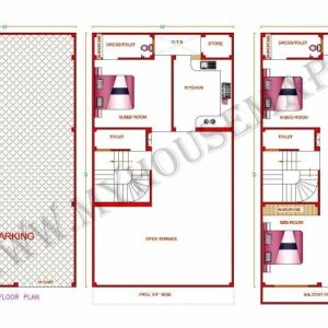 House Map 15 X 45