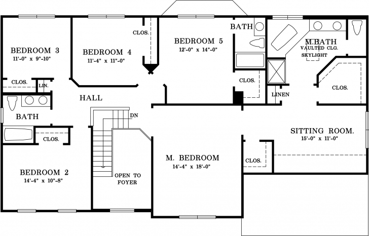 Cool House Plan 5 Bedroom House Plans Interior Home Design Ideas 5 5 Bedroom Bungalow Plan Photo