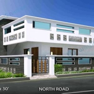 North Facing House Plans Elevation