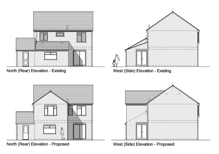 Cool House Plans Section Drawings Plan With Elevation And H2 Planning Plan Elevation Section Of Residential Building Ppt Picture