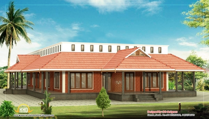 Cool Kerala Style Single Floor House Indian Plans - Home Plans Kerala Style Single Floor Home Model Photos Photo