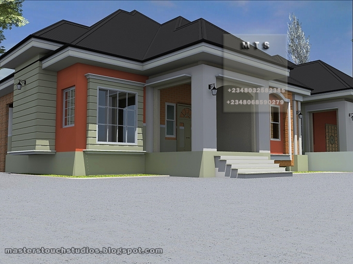 Cool Modern House Plan Nigeria New 3 Bedroom Bungalow Plan In Nigeria Awe Pictures Of 3 Bedroom Houses In Nigeria Image