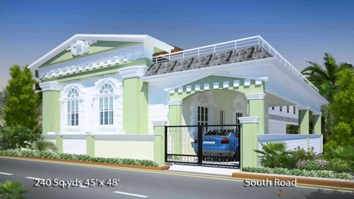 Cool South Indian House Plans South Facing - Youtube Front Elevation Of Indian House 30X50 Site South Facing Picture