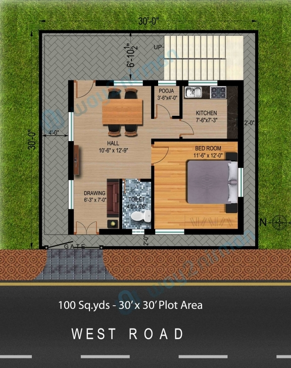 Exquisite 100 Sq Yard House Design Inspirational Apartments House Plan For 100 Square Yard House Pic