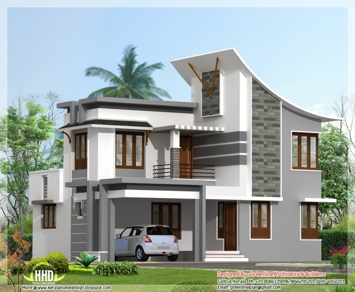 Exquisite 3 Bedroom Modern House Plans (Photos And Video) | Wylielauderhouse House Design 2017 With Floor Plan Pic