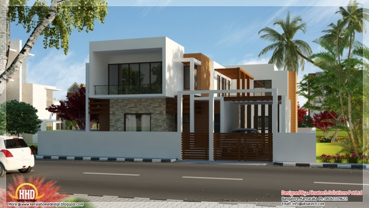 Exquisite House: Modern Indian Modern House Plans: Indian Modern House Plans Modern Indian House Pic Photo