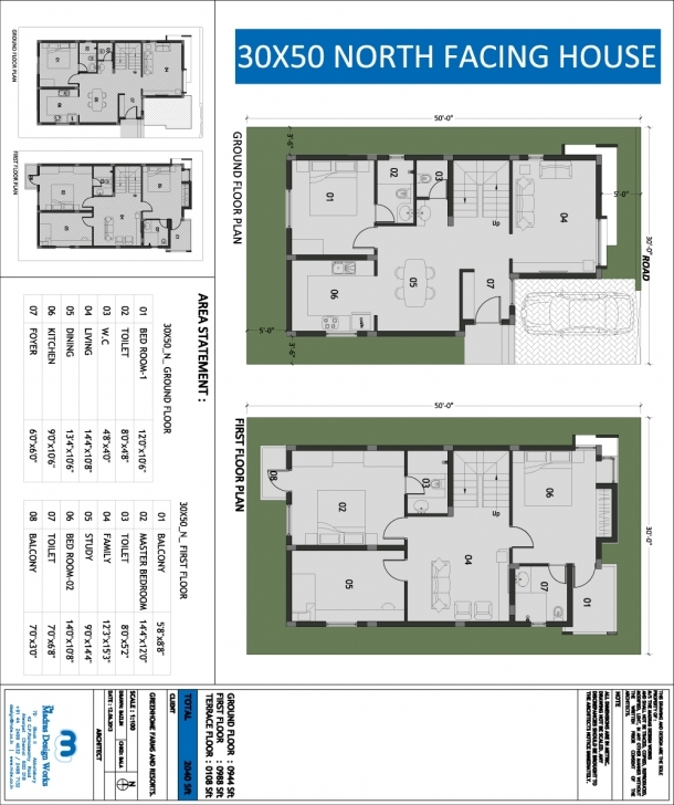 Exquisite House Plan Download 30 X 45 Duplex House Plans East Facing | Adhome 30*45 House Plan North Facing Photo