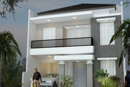 2Nd Floor House Front Design
