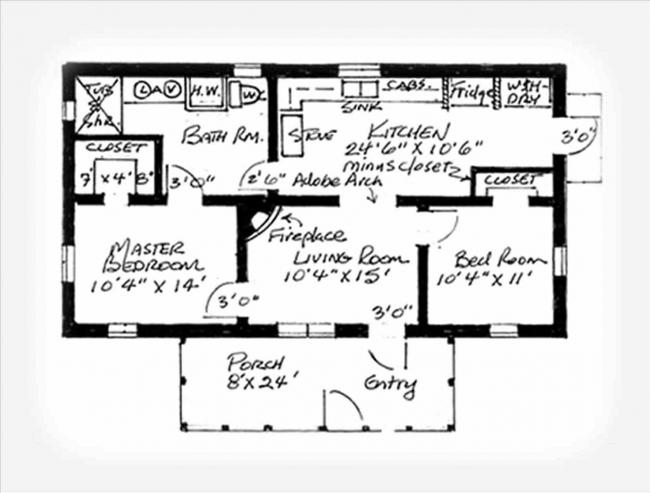 Exquisite Simple 3 Bedroom House Plans Without Garage | Musicdna Simple 3 Bedroom House Plans Without Garage Pic