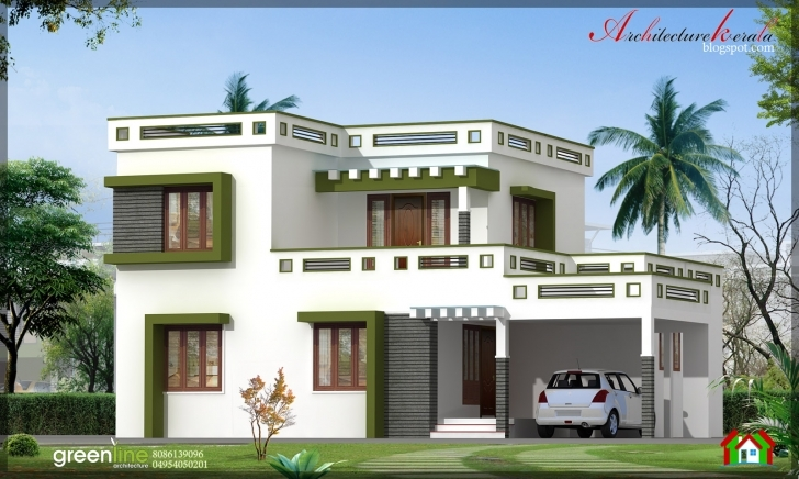 Fantastic Architecture Kerala: 3 Bhk New Modern Style Kerala Home Design In New House Plans For 2017 Kerala Style Pic