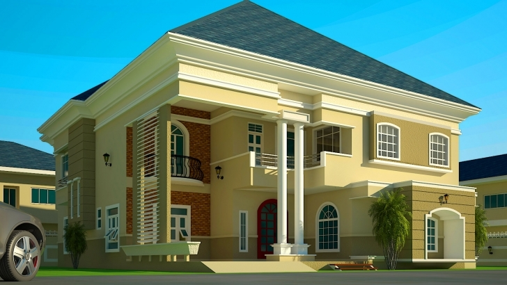 Fantastic House Floor Plans Ghana Beautiful Bedroom Storey Building Plan Ghana House Building Plan In Nigeria Photo