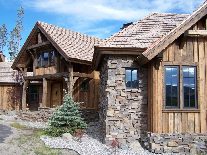 Fantastic Like The Vertical Siding & Rustic Feel. Bavarian Stone Cabin Rustic Mountain Home Exteriors Picture