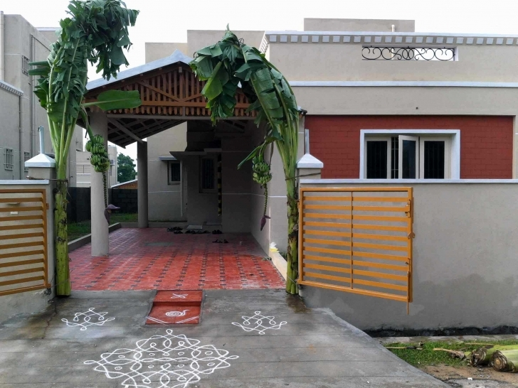 Fantastic Single Floor House Front Wall Tiles Designs Pictures Elevation Home Front Design Tiles Photo