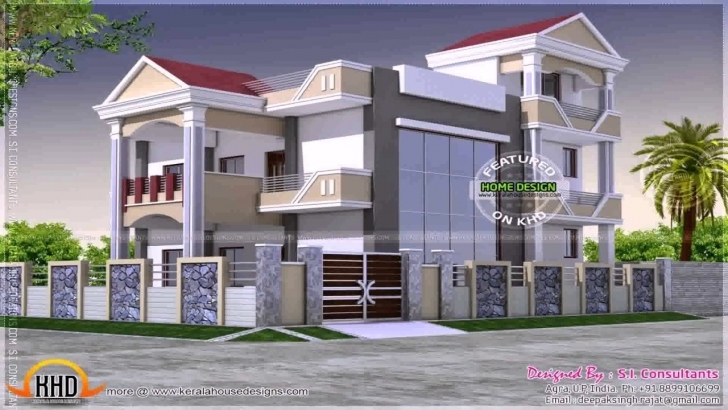 Fascinating Duplex Home Design Plans 3D - Youtube 3D Pictures Of A Duplex Image