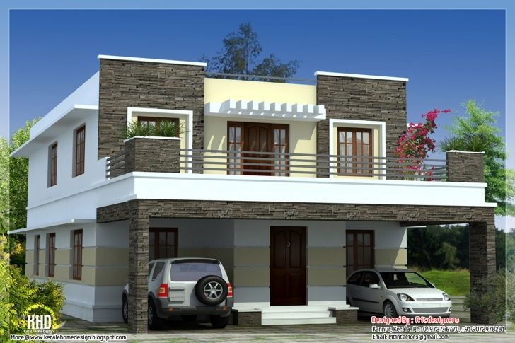 Fascinating Front Side Balcony Design | Izfurniture Front Balcony Wall Design Picture