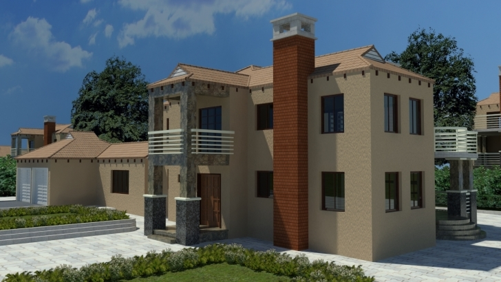 Fascinating Home Architecture: Tuscan Home Plans Design House Designs South Double Storey Tuscan House Plans Photo
