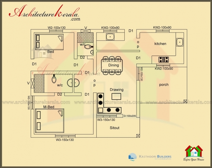Fascinating Home Plan Elevation 1000 Sq Ft Luxury Home Plan 1000 Sq Feet Fresh Home Plan And Elevation 1000 Sq Ft Image