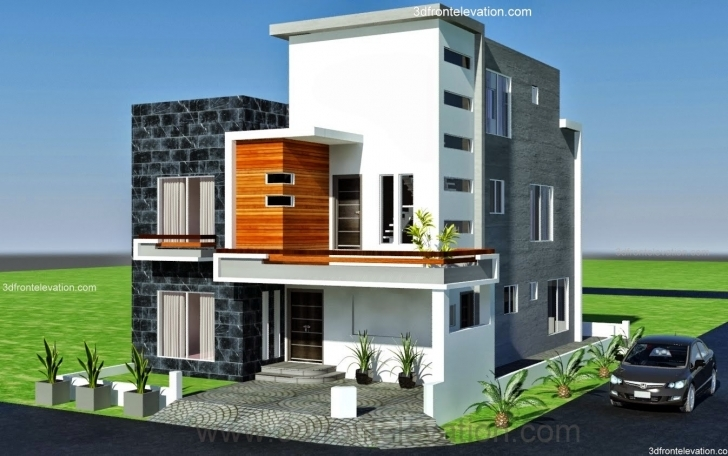 Fascinating House Plan Corner Plot Design Lahore Pakistan - Building Plans Pics Of 7 Marla House With Thier Arcetect Pic