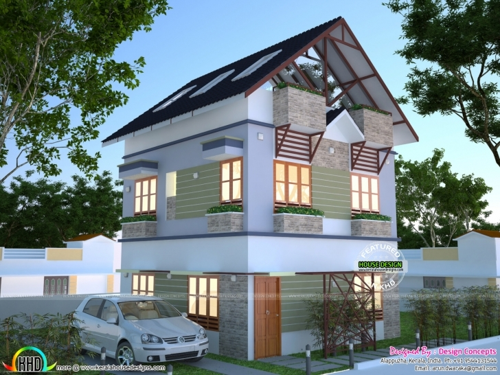 Fascinating House Plan For 2 Cent | Kerala Home Design | Bloglovin' 2 Cent House Plan Photos Picture