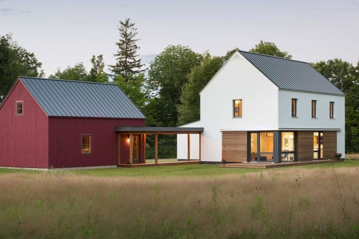 Fascinating Prefab Homes From Go Logic Offer 'rural Modernism' Assembled In 2 Modern Prefabricated Homes Image