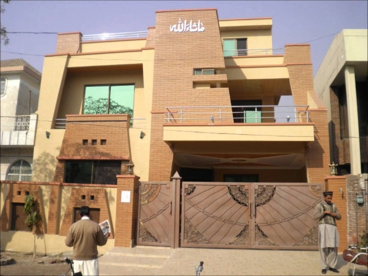 Fascinating Proficient Real Estate Houses - 10 Marla Brand New House For Sale In 15 Marla Only House Design In Pakistan Image