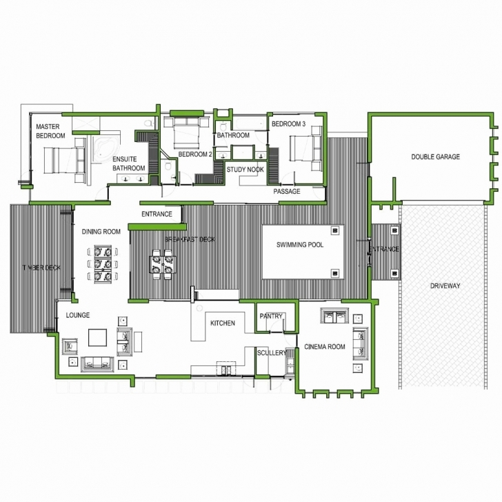 Good 2 Bedroom House Plans With Double Garage In South Africa Unique Most 3 Bedroom House With Double Garage Plans Photo