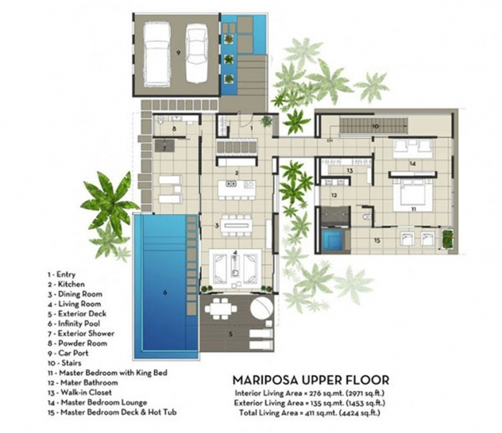 Good Architectural House Plans Modern Design Modern Villa … Modern Architecture Villas Plan And Elevation Photo
