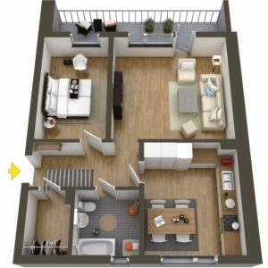 Plans For Twins Two Bedroom Flat
