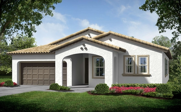 Good Contemporary One Story House Plans Luxury Small E  Single Home Small Single Storey House With Garage Picture