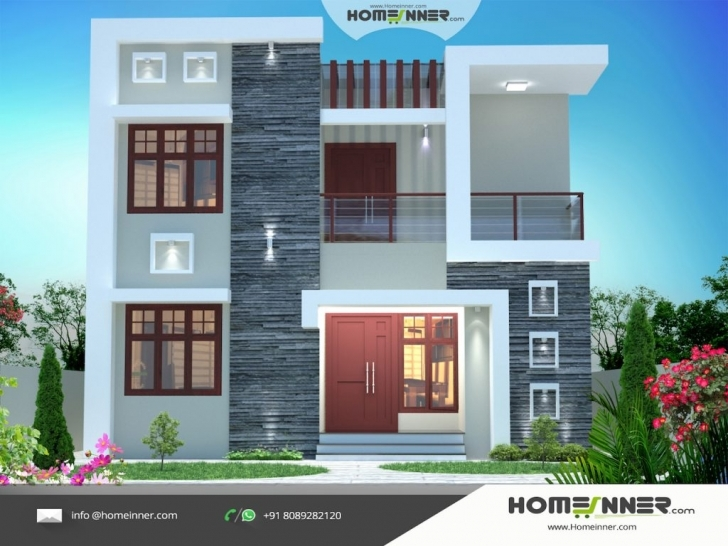 Good House Design D Exterior Inspirations 3D Plans Hd With Elevation New House Elevation 2017 Picture