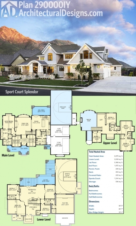 Good Plan 290017Iy: Imagine The Views | Luxury Houses And Luxury Luxury House Plans Image