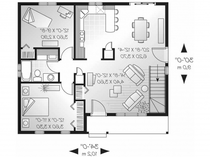 Good Small Bungalow House Plans Image Of 2 Bedroom Floor Plan In Nigeria Picture