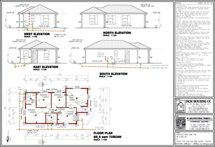 Good Wondrous Free 3 Bedroom House Plans South Africa 5 Building And Free House Floor Plans South Africa Photo