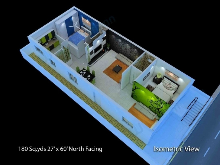 Gorgeous 20 X 60 House Plans | Musicdna 20*60 House Plan North Facing Photo