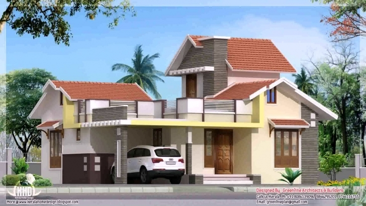 Gorgeous 3 Bedroom House Plan On Half Plot - Youtube Building On Half Plot Of Land Picture