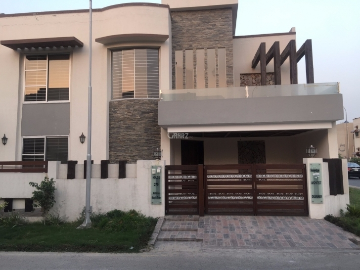 Gorgeous 7 Marla House For Rent In Bahria Town Phase-8 Rawalpindi - Aarz.pk Pics Of 7 Marla House With Thier Arcetect Picture