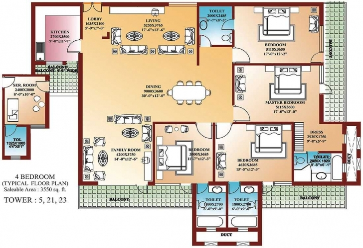 Gorgeous Bedroom House Building Plans Inspirations Also Stunning 4 Bedrooms Building Plans For 4 Bedroom House Image