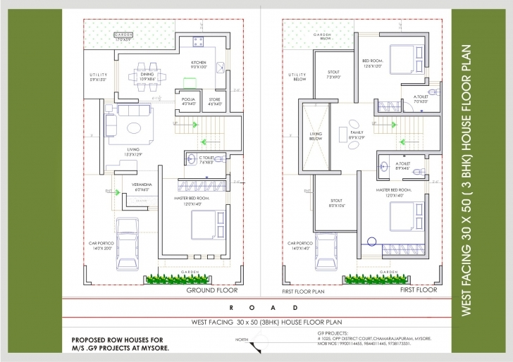 Gorgeous Fanciful 15 30×50 Home Plans House East Facing Modern Hd Picturesque 15*50 House Plan East Facing Pic