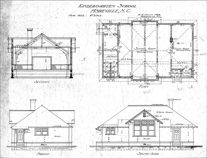 Gorgeous Floor Plan Section Elevation - Architecture Plans | #4988 Simple Plan Section Elevation Drawings Picture
