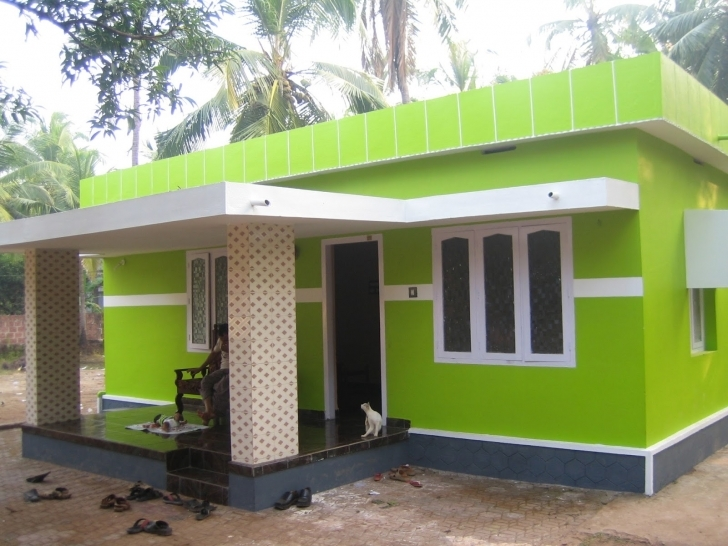 Gorgeous Home Architecture: Small And Simple But Beautiful House With Roof Village House Design Images Picture