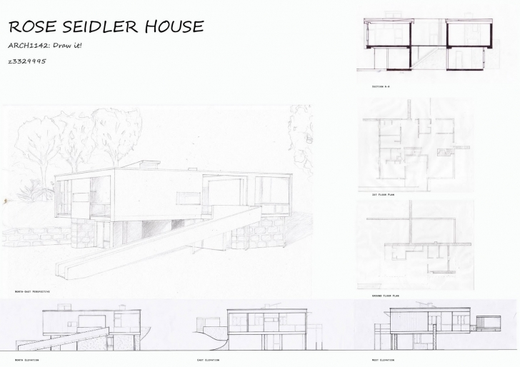 Gorgeous House Section Drawing At Getdrawings | Free For Personal Use House Plan Elevation And Section Drawings Image