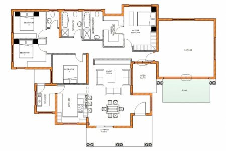 Modern 4 Bedroom House Plans South Africa