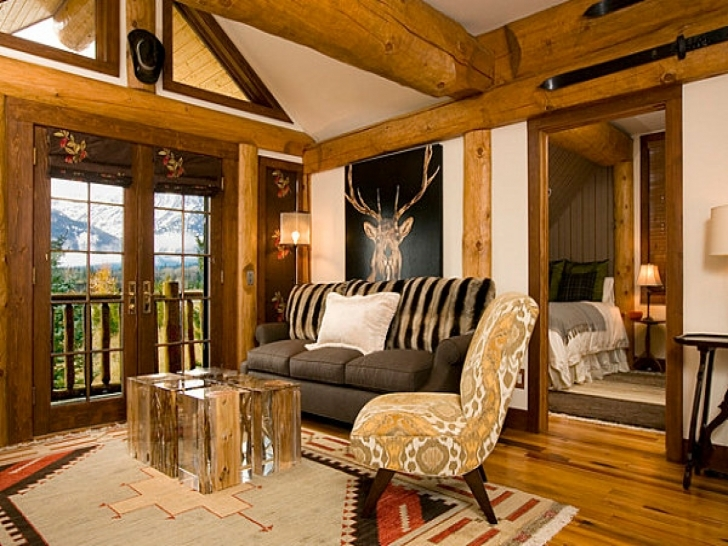 Gorgeous Rustic Decorating Ideas For Your Living Room The House Decor Cheap Rustic Mountain Home Decor Picture